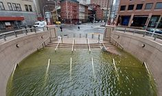 Climate change 'triple threat' increases severe flooding risk in biggest US cities  |  Trio of sea-level rise, storm surge and heavy rainfall exposes coastal cities such as New York, Los Angeles and Boston to potentially catastrophic flooding in future