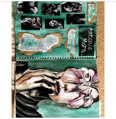 "Artist research page for my project ""even in death it grows"" A Level Art Sketchbook, Sketchbook Layout, Textiles Sketchbook, Arte Sketchbook, Sketchbook Ideas, Kunst Inspo, Art Inspo, Artist Research Page, Kunst Portfolio"