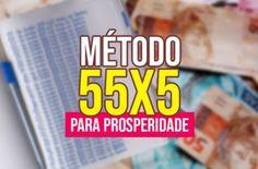Incrível Método 55x5 da Lei da Atração - Manifeste Dinheiro em até 5 Dias!