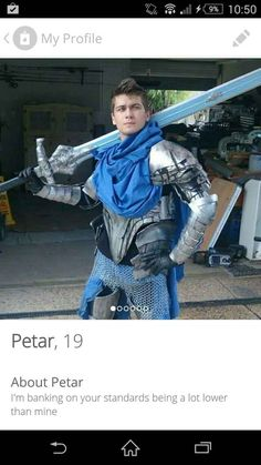 Petar, for this epic profile picture.