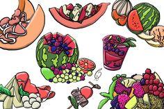 #melonen #fruit #melon #erfolgreichillustrator #doodle #sketch #cashima CashimaShiva.com