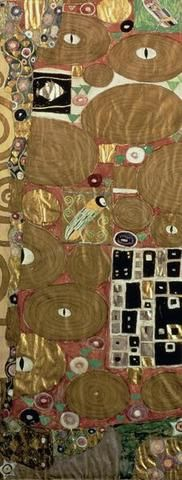 Fulfilment (Stoclet Frieze) C.1905-09 Giclee Print Poster by Gustav Klimt #AbstractPosters https://www.posters-print.com