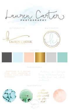 All around really pretty branding and think this would entice an interior design consumer to further explore my website