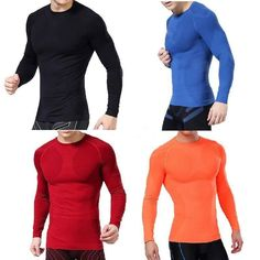 Men Compression Long Sleeve T Shirts  #best #yogainspiration #live #running #comfortable #yogi #tanktops #yogamom #fitness #yogabodshop