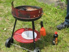 czyszczenie grilla węglowego