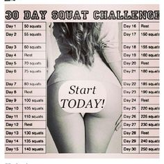 Ladies, This is How to Get a Sexy BUTT in 30 Days - Squatting Techniques