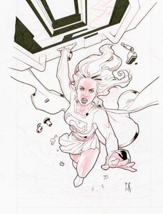 Supergirl by Stephane Roux