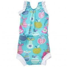 Splash About Happy Nappy Diaper Swimsuit Tutti Frutti X Large 12-24 Months