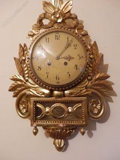 Antiques Atlas - Swedish Cartel Clock                                                                                                                                                      More
