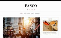 Free Pasco Blogger Template | Blogger Templates Gallery