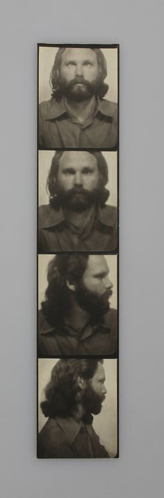 photos of Jim Morrison from an archive featured at the 2013 New York Antiquarian Book Fair