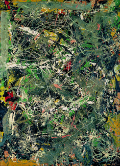 """Find the latest shows, biography, and artworks for sale by Jackson Pollock. Major Abstract Expressionist Jackson Pollock, dubbed """"Jack the Dripper""""… Action Painting, Drip Painting, Jackson Pollock, Pablo Picasso, Pollock Paintings, Lee Krasner, Willem De Kooning, Max Ernst, Art Moderne"""