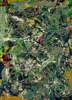 Jackson Pollock, Untitled (ca. 1949) | Artsy