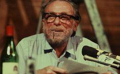 Charles Bukowski, muito amor, bebida e emoções