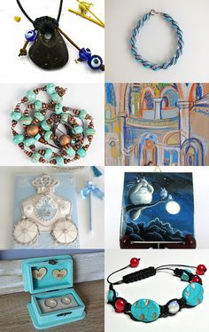 Blue Moon! by AccessoryDukkan on Etsy--Pinned with TreasuryPin.com