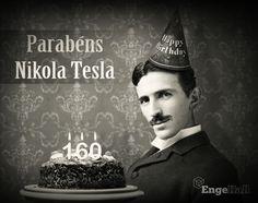 """Você sabia que ontem seria o aniversário de 160 anos de Nikola Tesla? O grande mestre da elétrica, eletrônica e da inovação nasceu durante uma tempestade de raios no dia 10 de julho de 1856 na Croácia. E sua mãe o chamava de """"filho da luz""""."""