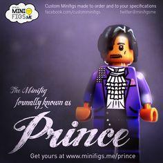 Prince custom LEGO minifigure