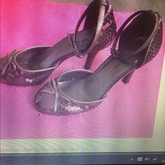 Vtg:Seguines shoes Vtg:Chocolate brown seguences shoes. strapped , size 6 .Only worn once . Shoes Heels