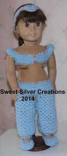 18 inch American Girl Crochet Pattern von SweetSilverCreations Mehr