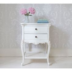 Buy the beautifully designed Provencal White Bedside Table, by The French Bedroom Company. Shop 24 hours a day for Effortless Luxury Online. White Bedroom Furniture, French Furniture, Home Decor Furniture, Table Furniture, Furniture Makeover, Furniture Ideas, Dresser Table, Furniture Stores, Cheap Furniture