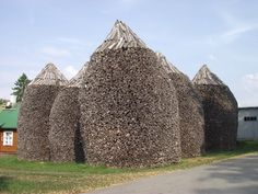 firewood walls