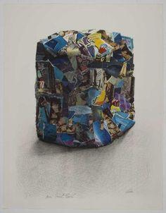 """CÉSAR (1921-1998) Avoriaz, 1982. Lithographie justifiée """"H.C.""""."""