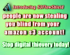 Protect your s3amazon files with S3Flowshield
