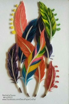 ~ The Art of Quilling Paper ~ - Quilling Paper Crafts Paper Quilling Tutorial, Origami And Quilling, Quilled Paper Art, Paper Quilling Designs, Quilling Paper Craft, Quilling Flowers, Quilling Patterns, Paper Flowers, Paper Crafts