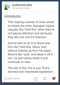 This totally was a thing in the comics. Not the vine, but that Captain America is worthy of mjolnir