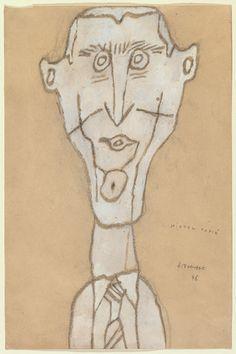 Jean Dubuffet. Michel Tapié. (August) 1946