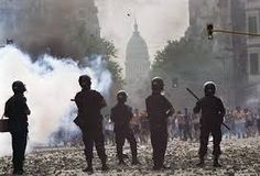 Penas de entre 3 y 6 años por la represión del 19 y 20 de diciembre de 2001