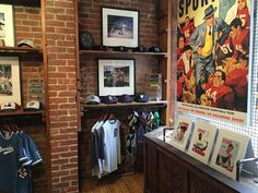 Here's another look at our new #WestVilliage location. Come check it out! 8th Avenue at Jane Street.  #SPORTgallery Manhattan #shop #shoplocal #vintage #vintageinspired #sports #history #style #clothing #art #prints #fineartphotography