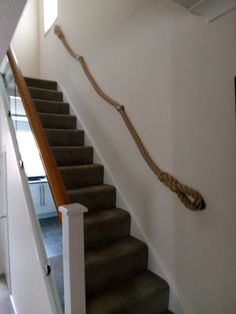 Best 117 Best Rope Banisters For Stairs Images Banisters 400 x 300