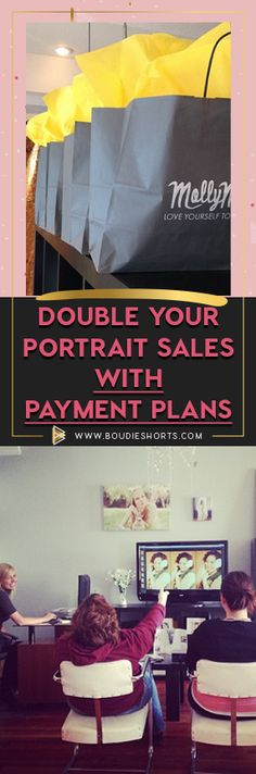 Here's How to DOUBLE Your Portrait Sales with Payment Plan - boudieshorts.com