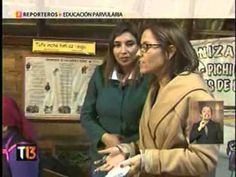 Reporteros, Educación parvularia Canal 13 UCTV - YouTube