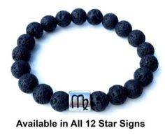 Volcanic lava beads & the star sign stone bracelet enlightens you with the traits of your zodiac sign whilst soaking up the health benefits of our aromatherapy essential oils. Stone Bracelet, Lava, Aromatherapy, Health Benefits, Zodiac Signs, Essential Oils, Beaded Bracelets, Beads, Jewelry