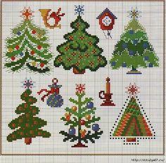 Point de croix *m@* Cross stitch Christmas