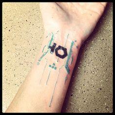 tron tattoos