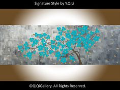 Original Art Abstract Painting Impasto OIL by QiQiGallery on Etsy, $195.00