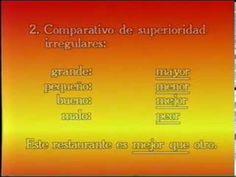 Un poco de gramática: LOS COMPARATIVOS Y LOS SUPERLATIVOS. - ►YouTube