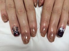 Christmas nails #gelish