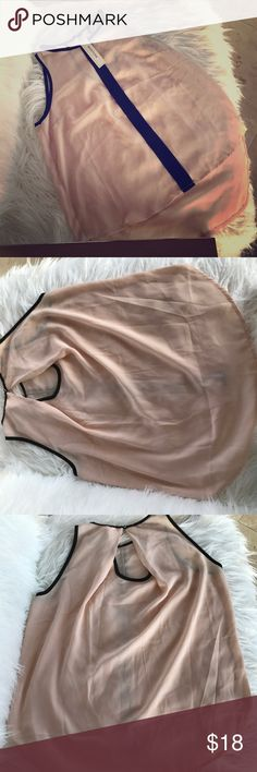Pink chiffon blouse Pink blouse /would be adorable with jeans and blazer/ NWT Tops Blouses