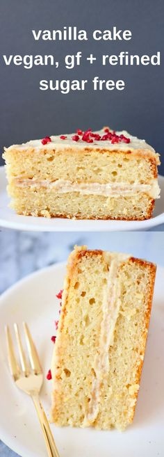 The Very Best Gluten Free Vanilla Cake Recipe Gluten free vanilla