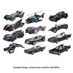 Hot Wheels Batman 1:50 Scale Premium Wave 2 Rev. 1 Case - Free Shipping