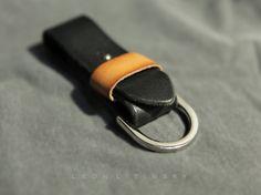 Leather Key Fob by Leon Litinsky.