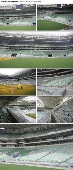 4c398964fffa4 Mosaico - Arena Palmeiras vista por dentro (Foto  Editoria de arte)  Palmeiras 2017