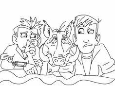 Wild Kratts Coloring Pages Coloring Pages Kids Toddler