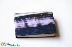 Kézzel fűzött kemény borítós notesz / kis méretű napló - Meska.hu