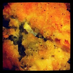 fancy broccoli cheese rice casserol