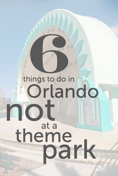 There's a lot more to Orlando, Florida than the theme parks — though we love them! Picture the kids in front of huge outdoor sculptures. Playing in giant water playgrounds. Practicing their team work at regional sports tournaments. I'm Eileen Ogintz, the author of the Kid's Guide to Orlando and the syndicated column and website …